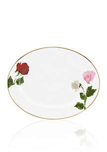 Rose Park Oval Platter