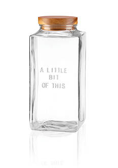 kate spade new york® 'a little bit of this' Large Canister
