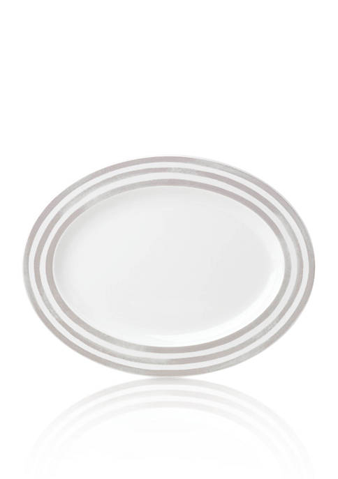 kate spade new york® Gray Platter