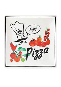 Any Way You Slice It Pizza Square Tray