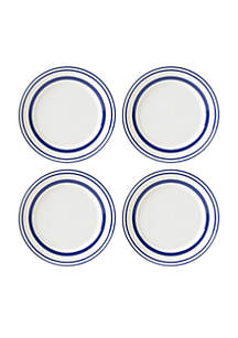 All In Good Taste Stripe Cobalt Dinnerware Collection