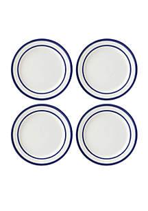 All In Good Taste Stripe Cobalt Dinnerware Collection