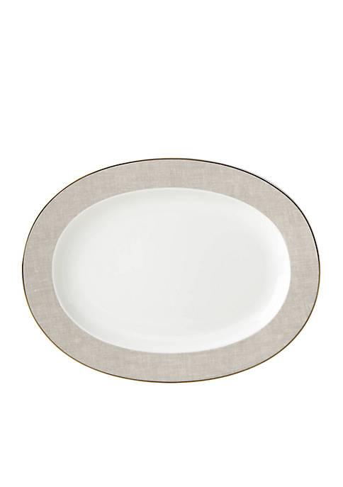 kate spade new york® Savannah Street Oval Platter