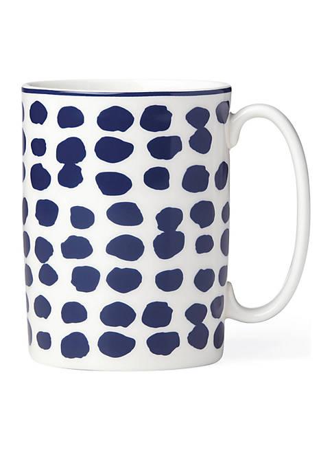kate spade new york® Spring Street Cobalt Mug
