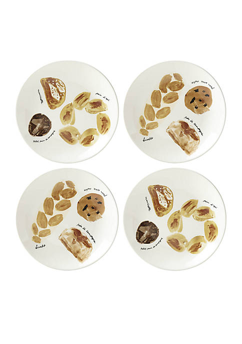 kate spade new york® Bread Accent Plates