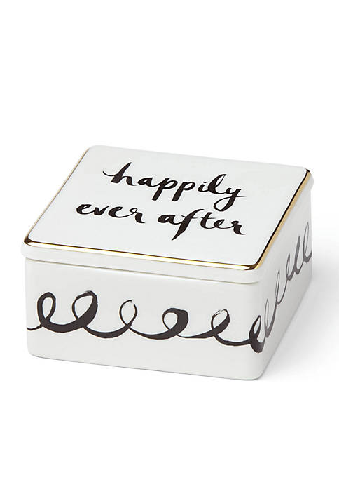 kate spade new york® Bridal Party Keepsake Box