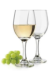 Classic Set of 4 White Wine Goblets