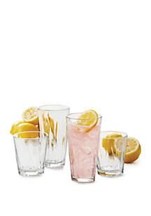 Trafford Drinkware 16-Piece Set