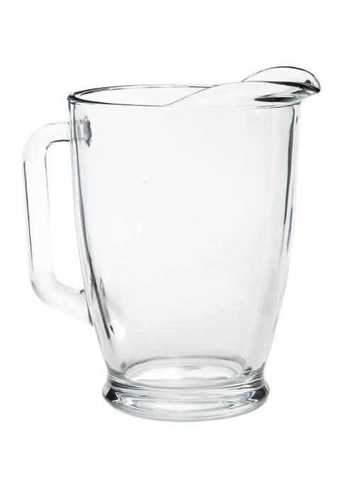 Libbey Camelot Glass Pitcher