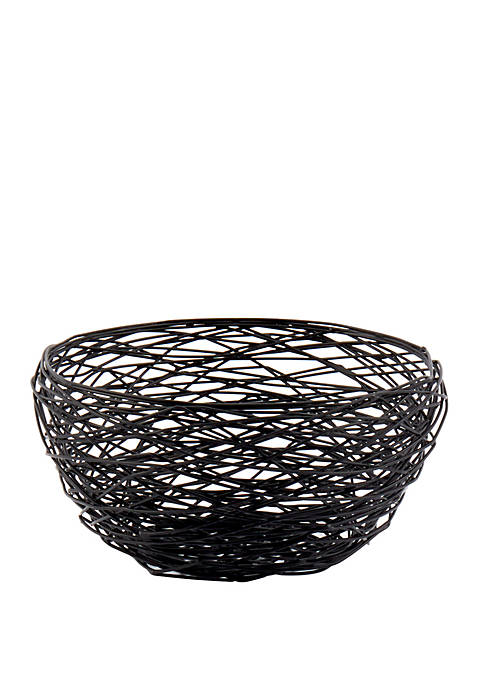 Tabletops Gallery Round Wire Basket Belk