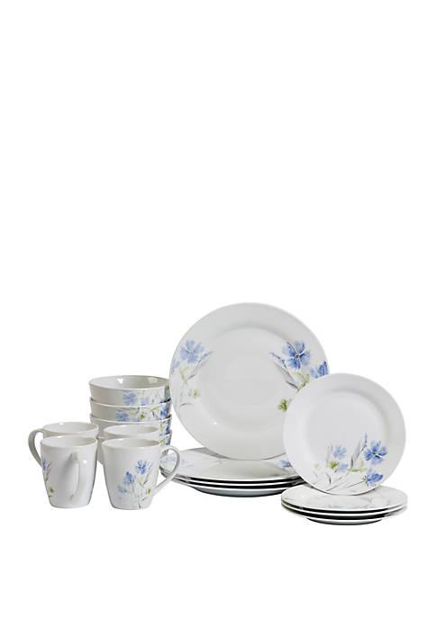 Wildflower Dinnerware 16 piece Set
