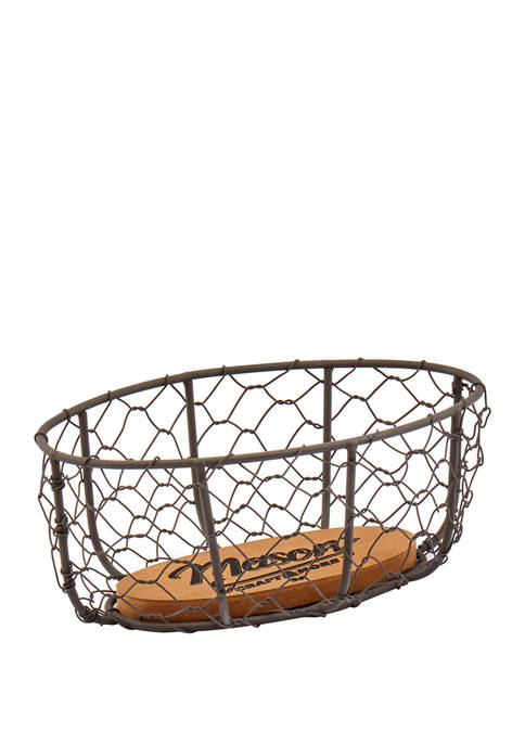 Mason Craft & More Mason Blossom Small Basket