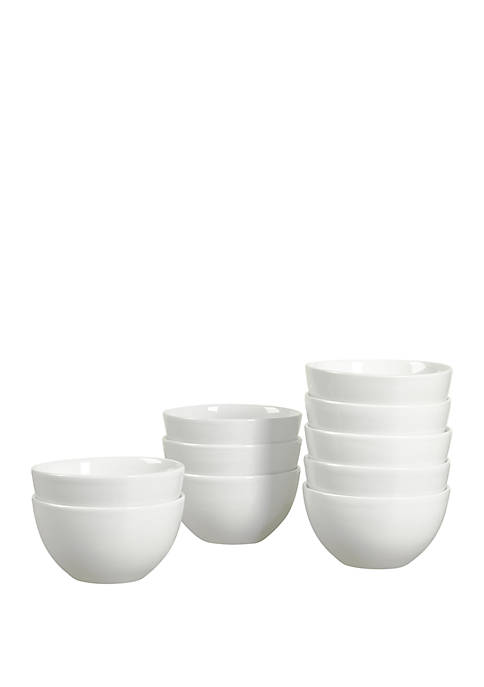 Set of 10 Caterer Box Cereal Bowls