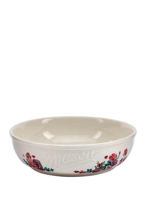 Mason Blossom 8 Inch Dinner Bowl