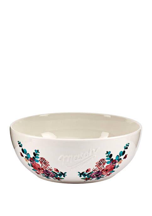 Mason Blossom Serve Bowl