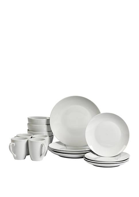 Tabletops Gallery Adams Dinnerware 16 Piece Set