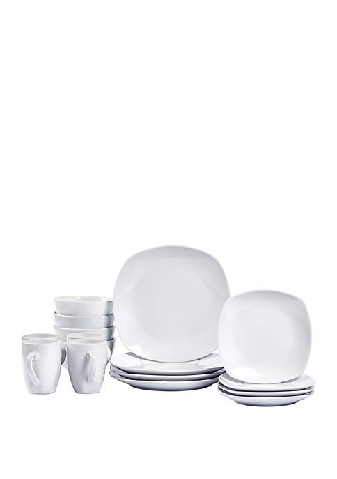 Tabletops Gallery Logan Dinnerware 16 Piece Set