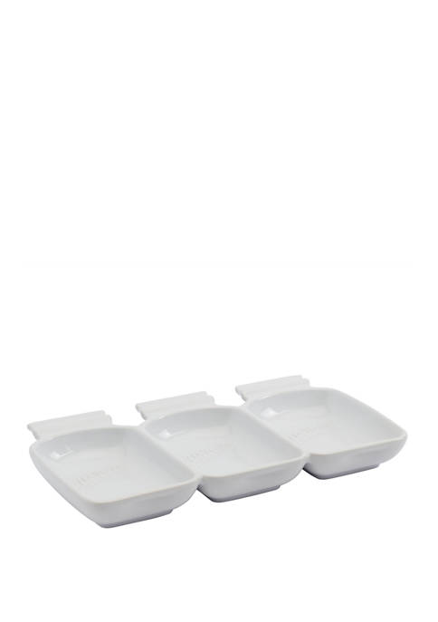 3 Section Condiment Serveware