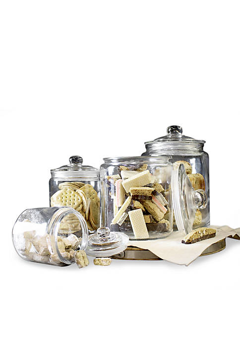 Set of 4 Heritage Canisters