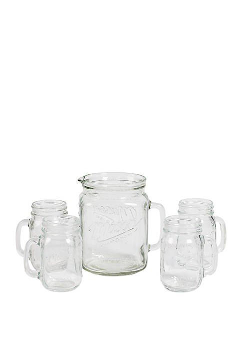 Mason Craft & More 5-Piece Drinkware Set
