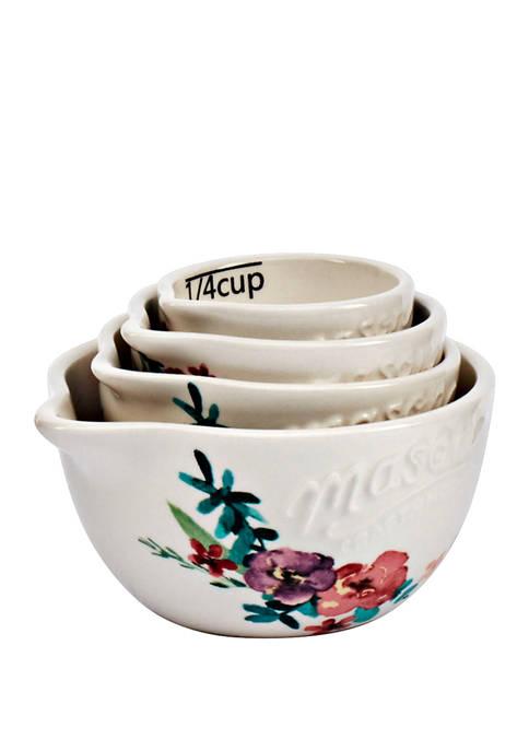 Mason Blossom Measuring Cups