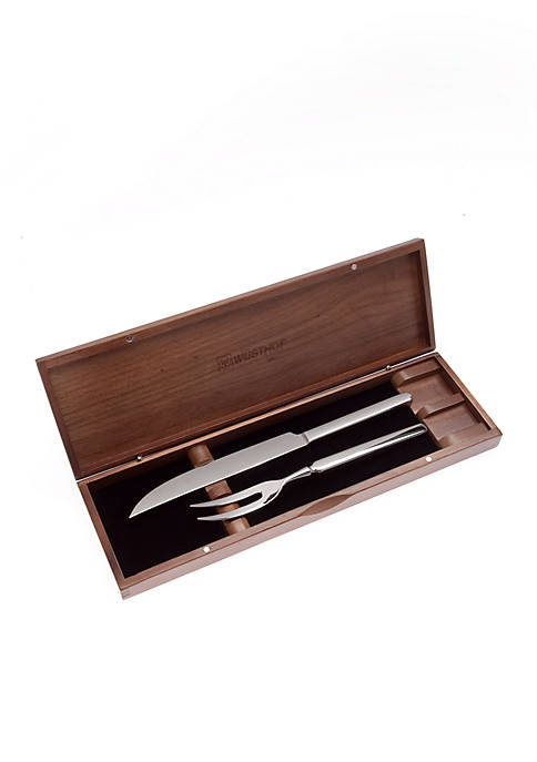 2-Piece Stainless Steel Carving Set - Online Only