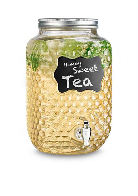 Home Essentials Honeycomb Chalkboard Beverage Dispenser, 2-Gal.