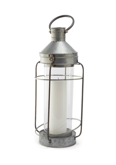Home Essentials 18 Inch Galvanized Lantern