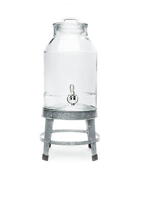 Home Essentials Galvanized Beverage Dispenser