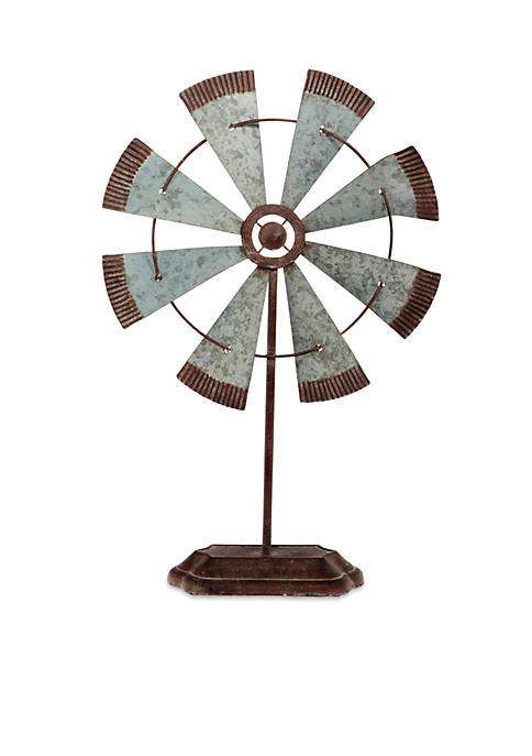 Home Essentials 21-in. Galvanized Fan On Metal