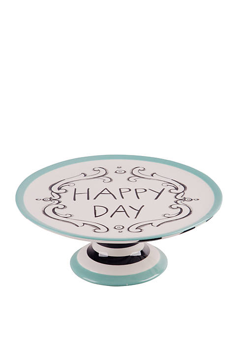 Molly Hatch Good Thoughts Happy Day Cake Stand