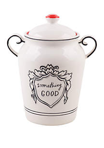 Home Essentials Molly Hatch Good Thoughts Something Good Covered Canister