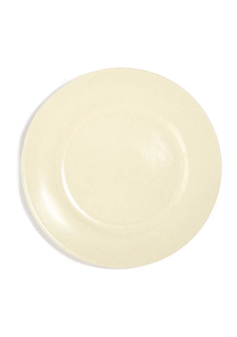10.5 Inch Ivory Dinner Plate