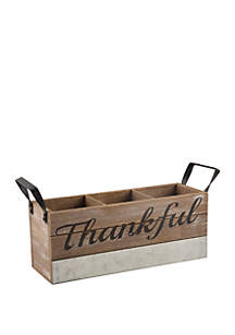 Home Essentials Thankful Flatware Caddy