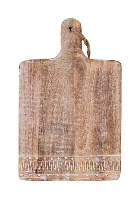 Home Essentials & Beyond Wooden Cheese Board