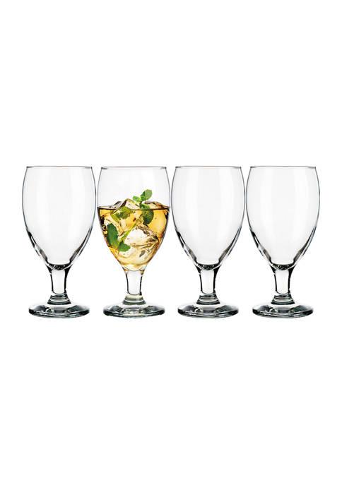 Set of 4 20 Ounce Iced Tea Glasses