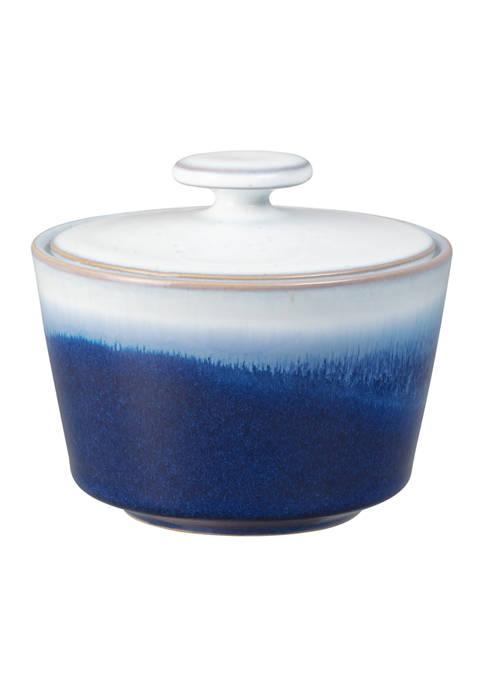 Denby Blue Haze Sugar Bowl