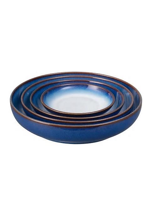 Blue Haze Set of 4 Nesting Bowls