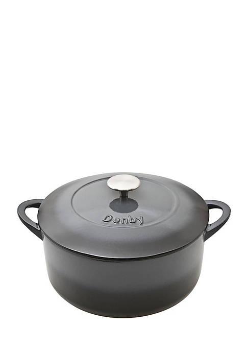 Denby Halo 5.2 Liter Round Casserole