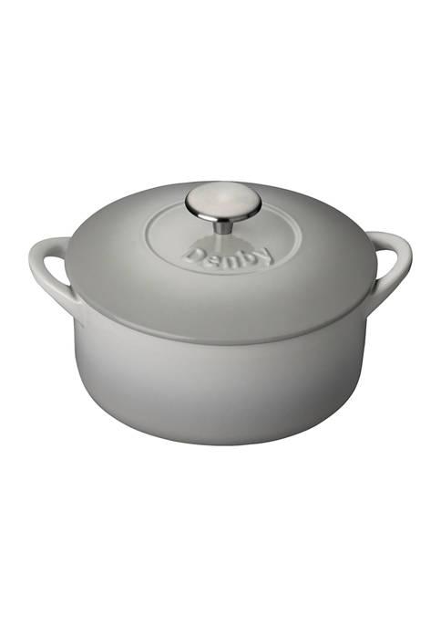 Denby Natural Canvas 2.5 Liter Round Casserole Dish