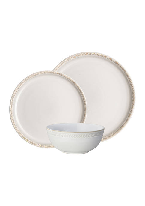 Denby Natural Canvas 12 Piece Set(Items include: 4