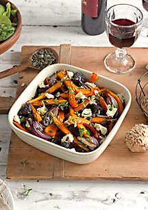 Natural Canvas Square Oven Dish