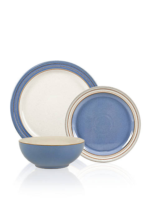 Denby Heritage Fountain 4-piece Boxed Place Setting