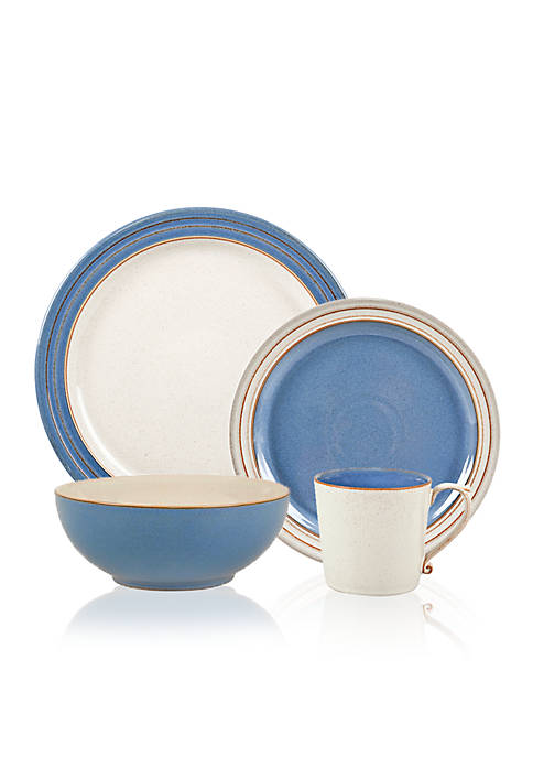 Denby Heritage Fountain 16-Piece Dinnerware Set