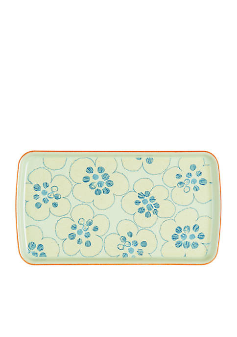Denby Orchard Rectangle Accent Plate 10.25-in.