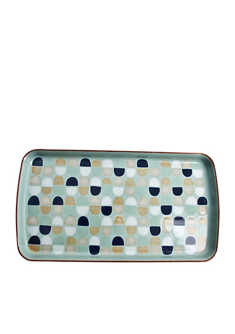 Denby Pavilion Rectangle Accent Plate 10.25-in.