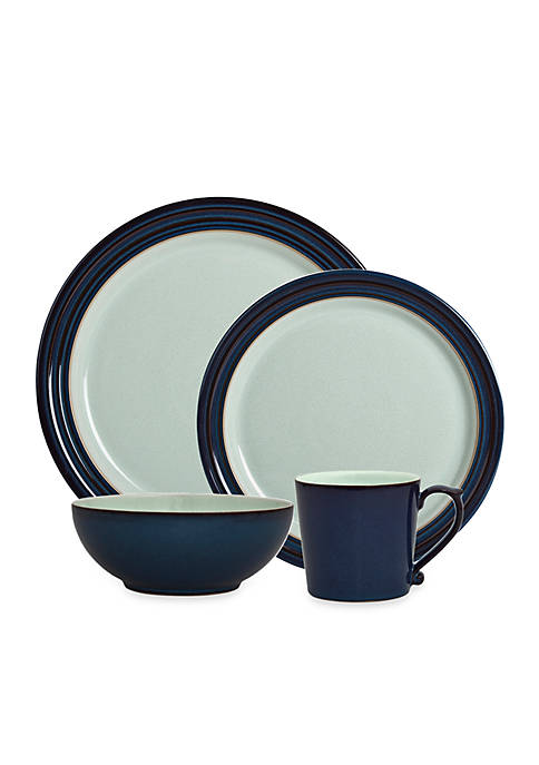 Denby Peveril 4 Piece Place Setting