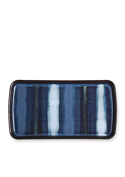 Denby Peveril Accent Small Rectangular Platter