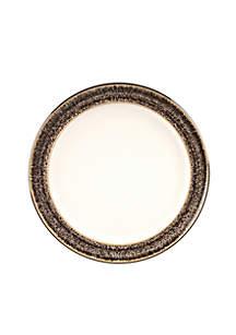 Denby Praline Wide Rimmed Dessert/Salad Plate
