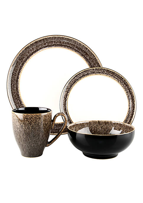 Denby Praline 4pc Place Setting